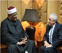 وكيل الأزهر يلتقي رئيس اتحاد المؤسسات الإسلامية بالبرازيل