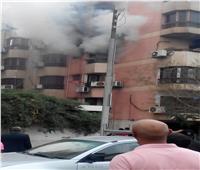 فيديو  تفاصيل حريق وحدة سكنية بالشراتون بسبب «طاسة زيت»