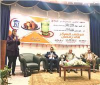 معهد ناصر يوزع ٣٥ جهاز سكر على المرضى بمناسبة شهر رمضان