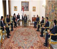 السيسي: مصر حريصة على تطوير العلاقات الثنائية مع فيتنام