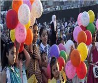 آلاف المواطنين يتوافدون على الحدائق والمتنزهات للاحتفال بعيد الفطر