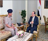 الرئيس السيسي يستقبل وزير الدفاع