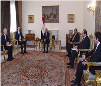 السيسي: مصر تدعم مبادرات التوصل لتسوية عادلة وشاملة للقضية الفلسطينية