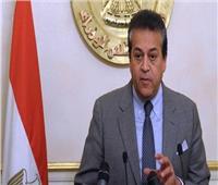 وزير التعليم العالي يتفقد منشآت الجامعة المصرية اليابانية