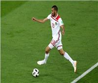 """روسيا 2018  شاهد.. """"خالد بو طيب"""" يمنح المغرب التقدم على إسبانيا"""