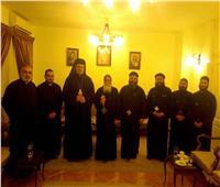 المدبر الرسولي الكاثوليكي لايبارشية الجيزة يزور أُسقف 6 أكتوبر وأوسيم