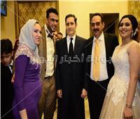 صور| علاء مبارك يحضر خطوبة ابنة شقيقة الفنانة هايدي سليم