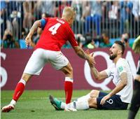 صور وفيديو| فرنسا والدنمارك.. مباراة مونديالية بأجواء ودية