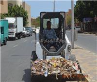 رئيس مدينة القصير: استمرار تنفيذ حملات النظافة بالشوارع