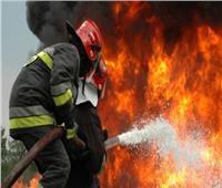 حريق في السويس بسبب ارتفاع درجات الحرارة