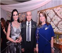 صور| وزراء وإعلاميون في زفاف حفيد وزير الداخلية الأسبق عبد الحليم موسى