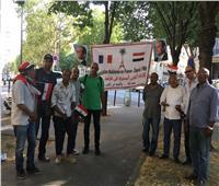 صور| احتفالات المصريين بثورة 30 يونيو في شوارع فرنسا