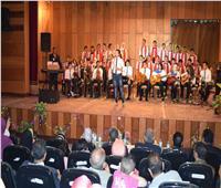 محافظ المنيا يشهد احتفالية قصر الثقافة بذكرى ثورة 30 يونيو