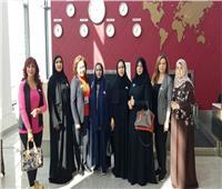 صور  وفد سيدات أعمال الإمارات يصل كازاخستان استعدادًا لعرض أزياء