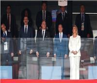 روسيا 2018| الملك فيليب السادس ورئيس الوزراء الروسي يحضران مباراة روسيا وإسبانيا