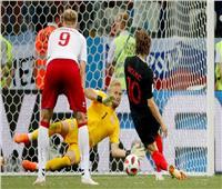روسيا 2018| الشوط الرابع.. كرواتيا تضيع ضربة جزاء أمام الدنمارك