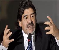 أول تعليق لـ«مارادونا» على إصابة محمد صلاح من راموس