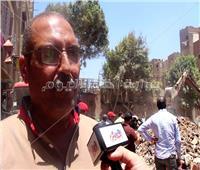 رئيس حي الساحل: نقل سكان العقار المنهار إلى مدينة بدر
