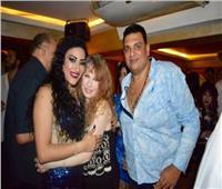 صور| نيللي ونهال عنبر والسبكي يحتفلون بعيد ميلاد سوزي أرام