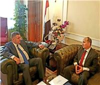 وزيرا قطاع الأعمال والتجارة والصناعة يبحثان تعزيز التعاون