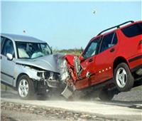 إصابة 3 أشخاص في حادث تصادم سيارتين بطريق الإسكندرية الصحراوي