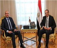 عمرو طلعت يلتقي رئيس لجنة الاتصالات بمجلس النواب