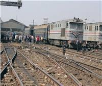خروج قطار عن القضبان في الإسكندرية