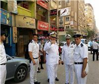 فيديو وصور| حكمدار الجيزة يتفقد الحالة الأمنية والمرورية بالطوابق والعريش