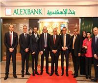 افتتاح فرع بنك الإسكندرية بهيئة التنمية الصناعية في التجمع الخامس