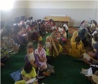 صور| إقبال كبير على المدارس القرآنية التابعة لوزارة الأوقاف