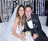 100 صورة لمشاهير الفن في حفل زفاف محمد علي رزق