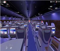 لأول مرة بالعالم.. «الواقع الافتراضي» يصل طيران الإمارات| فيديو