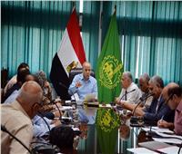 عشماوي يتابع تنفيذ قرارات الإزالة الفورية على أملاك الدولة