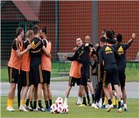 روسيا 2018| «مزاح واستعراض مهارات» في تدريبات بلجيكا قبل مواجهة فرنسا