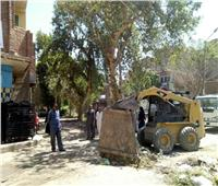 الوحدة المحلية لمركز بني مزار تقرر إيقاف مبنى مخالف