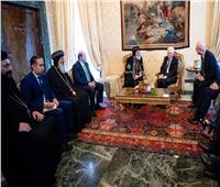 الرئيس الإيطالي يستقبل البابا تواضروس الثاني في روما