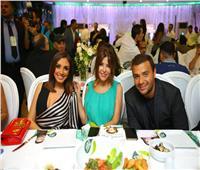 صور| رامي صبري مع أنغام وسميرة سعيد ونوال الزغبي بحفل «روتانا كافيه»