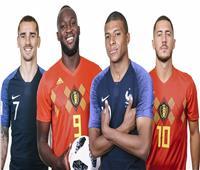 روسيا 2018| التشكيل المحتمل لمنتخبي فرنسا وبلجيكا