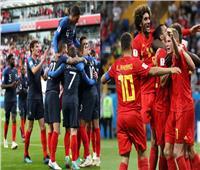 روسيا 2018| بث مباشر.. مباراة فرنسا وبلجيكا في نصف نهائي المونديال