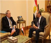وزير الاتصالات يستقبل سفير كوريا الجنوبية والقائم بأعمال السفير الأمريكي