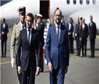 رئيس وزراء بلجيكا لماكرون: حالفكم الحظ أمس في كأس العالم