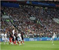 روسيا 2018| شاهد ..هدف إنجلترا الأول في شباك كرواتيا