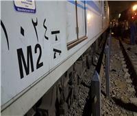 «المترو»: الاستعانة بونش سكة حديد لرفع أحد عربتي قطار المرج