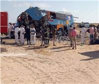 عاجل| أول صور لمصرع وإصابة 35 شخصا في حادث تصادم بطريق «مطروح- الإسكندرية»