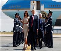 بالصور..ترامب يصل لندن في أول زيارة له منذ توليه منصبه