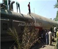 قطار البدرشين| وزير النقل ينتقل إلى موقع الحادث