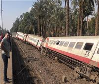قطار البدرشين| فريق النيابة العامة يعاين حالة المصابين