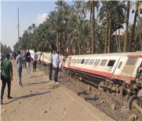 قطار البدرشين| قوات الأمن تخلي موقع الحادث وتفرض كردونا أمنيا