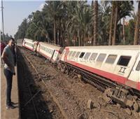 قطار البدرشين| النيابة العامة تنتهي من معاينة موقع الحادث