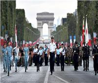 في موكب مهيب..الرئيس الفرنسي يشهد احتفالات بلاده بذكرى 14 يوليو